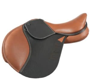 Show jumping style - forward flap