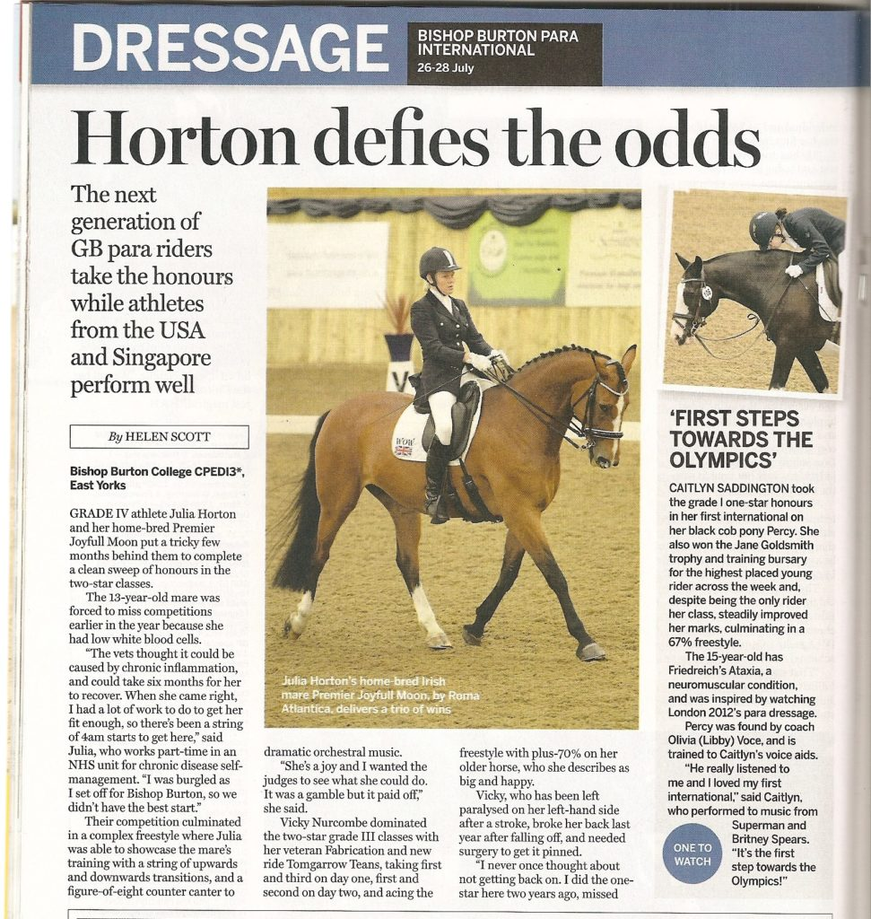 Julia Horton in H&H