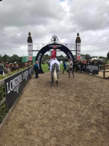 Paul Tapner on Bonza Hickstead