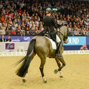 Lara and Rubin Al Asad at olympia 2