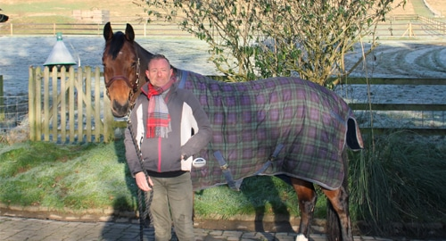 New WOW Groom - Mark Armstrong-Greenarriving - WOW Saddles