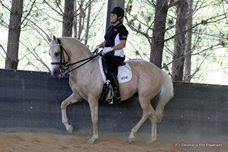 Debbie Dixon using her WOW saddle 2