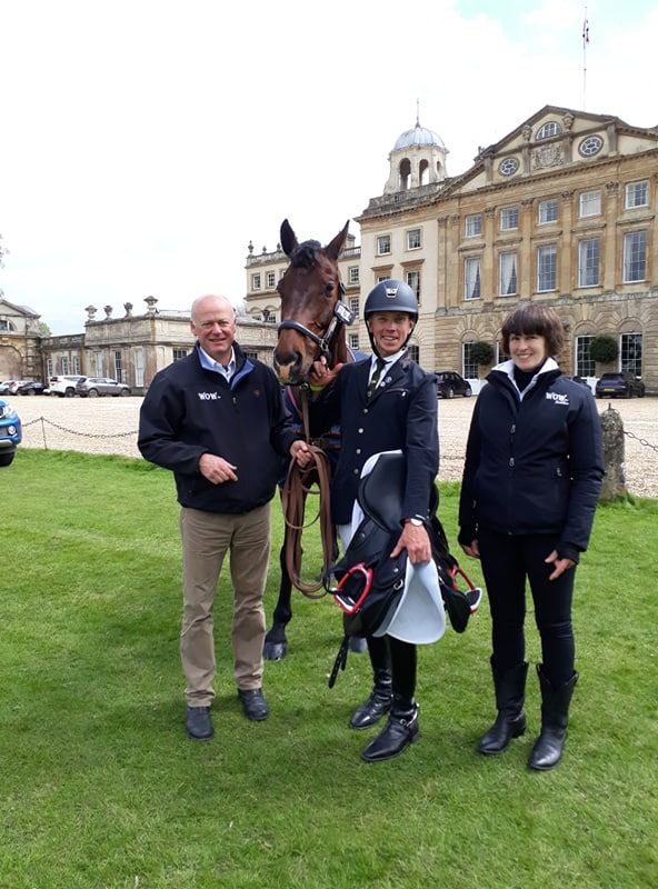 David and WOW At Badminton 2019