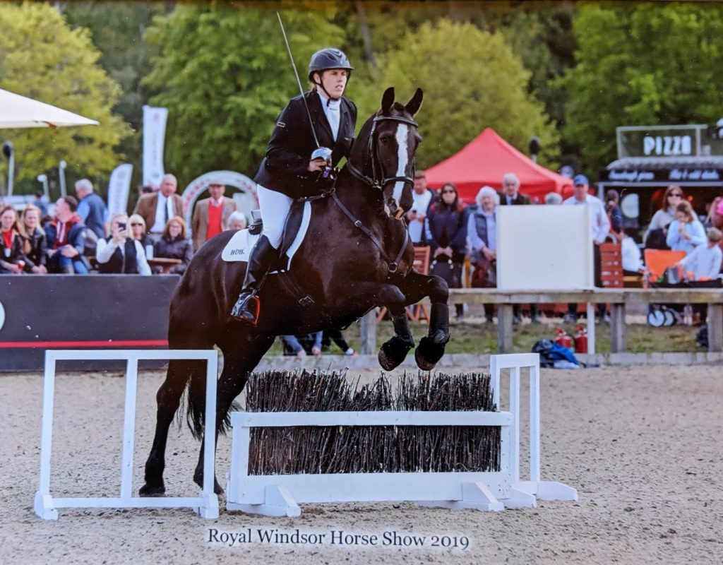 Jenna Tent Royal Windsor Horse Show