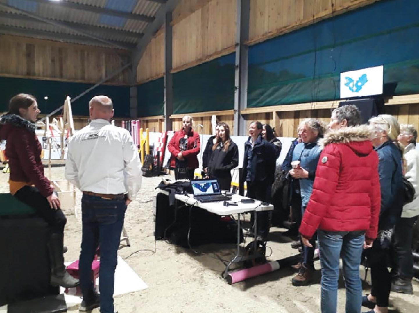 Pegasus on Nov 19 coverage of open evening for Faversham RC - 2019 3